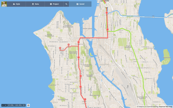 Combined West Seattle options.