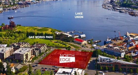 On the northern shores of Lake Union, Gas Works Park has become a gathering place for the Wallingford and Fremont communities and will soon see a lot of Tableau employees. (Perkins + Will)