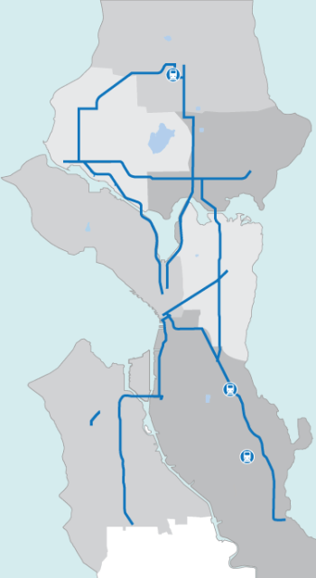 Transit investments from Move Seattle Levy. (Move Seattle)