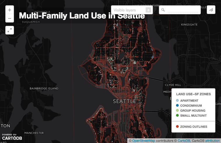 Map Of The Week MultiFamily Housing In SingleFamily Areas The