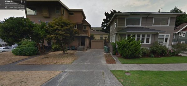 Can you tell the duplex and single-family home apart? (Google Streetview)