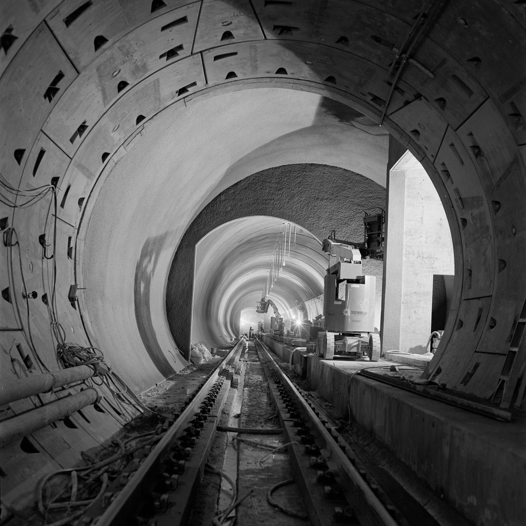 Sound Transit TBM Bores Through At University of Washington; Is This on the hobbit map, the lord of the rings map, the silmarillion map,