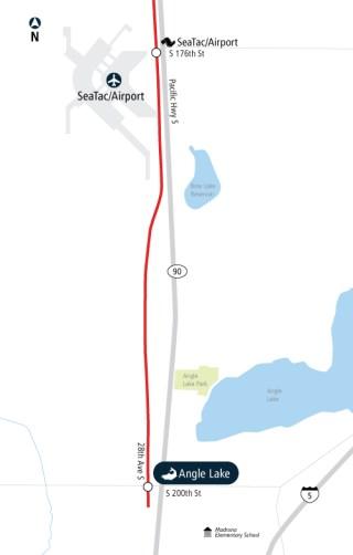 Link's map got one more dot. (Sound Transit)