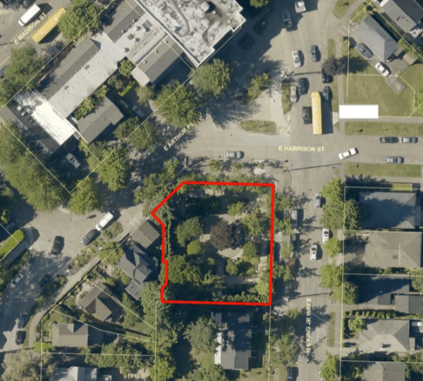 Location of the Julia Lee Park. (City of Seattle)