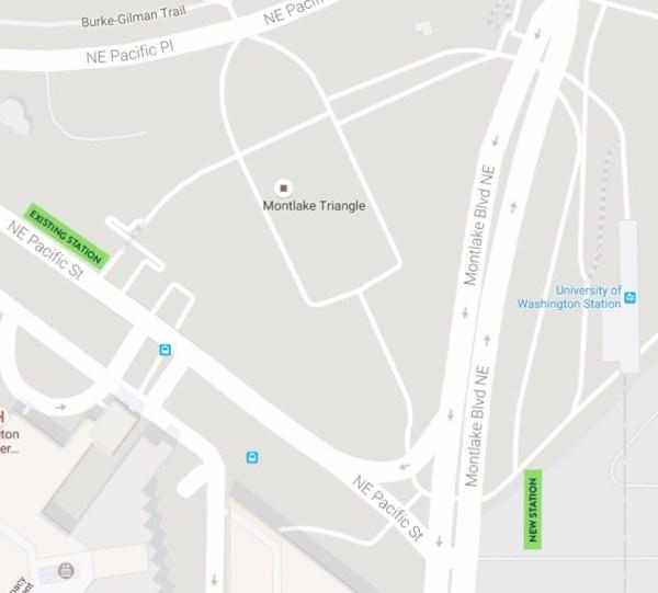 New UW Station Pronto station. (Pronto Cycle Share)