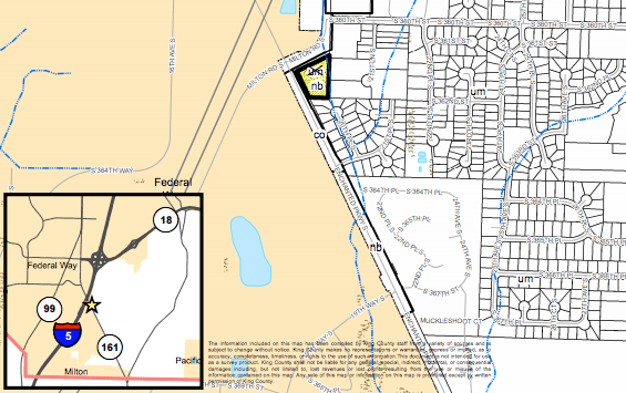 FLUM change proposed near Federal Way. (King County)