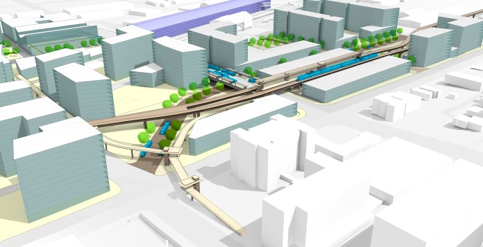 Everett is a city with big TOD plans around its future Link station. (City of Everett)