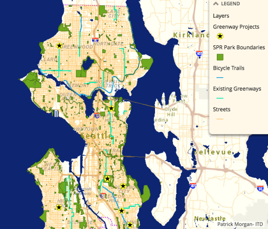 Access throughout Seattle. (City of Seattle)