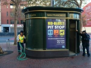 The Mid-Market Pit Stop in San Francisco.