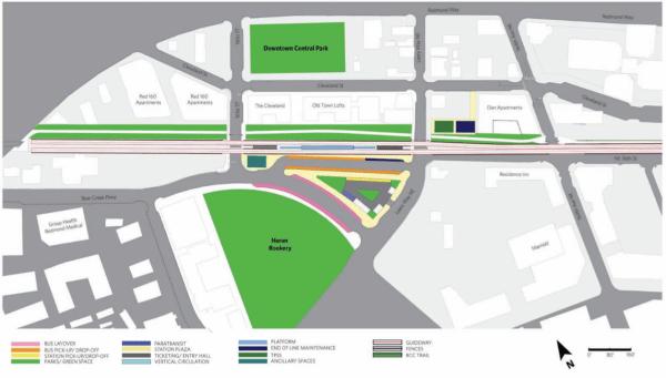 Concept 1 area plan. (City of Redmond)