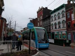 Cincinnati Streetcar at Findlay Market