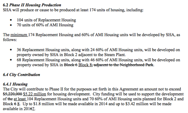 The amendment text to the Cooperative Agreement. (City of Seattle)