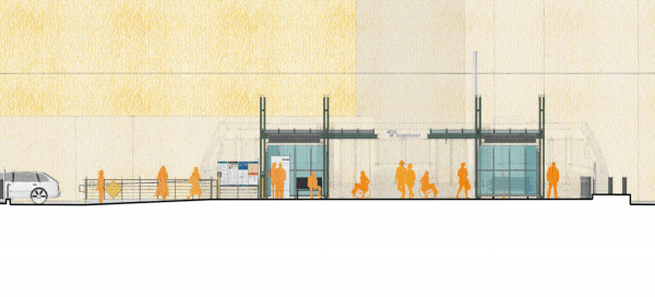 Full station profile for the extension. (Sound Transit)