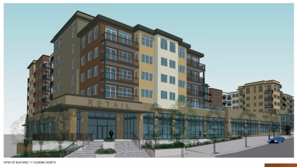 Rendering of a Gateway TOD building to be constructed. (City of Mountlake Terrace / Veer Architecture)