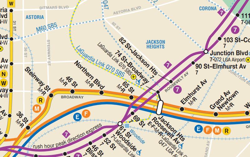 Nyc Subway Map Street Names.Nyc Subway The Urbanist