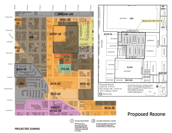 Context of the rezone. (City of Seattle)