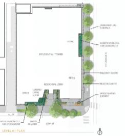 The landscaping plan. (Ankrom Moisan)
