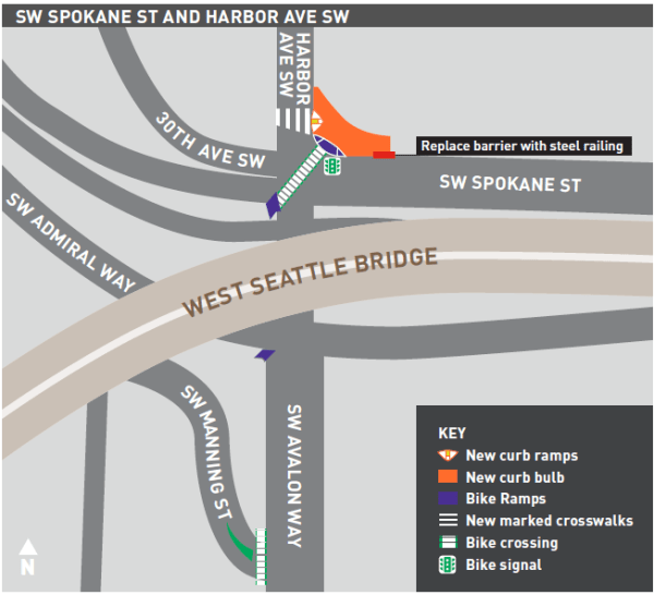 Final project plan for Harbor Ave SW. (City of Seattle)