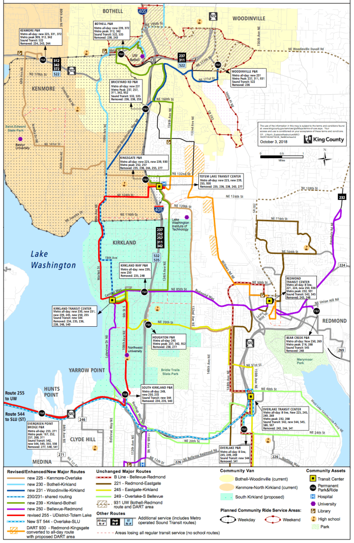 Metro's proposal to restructure service in the Northeast sector.