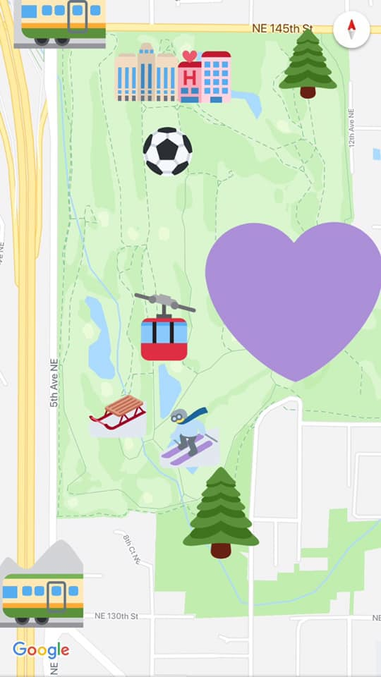 A depiction of some of transformative ideas that have been floated for the Jackson Park golf course. Credit: Share The Cities.