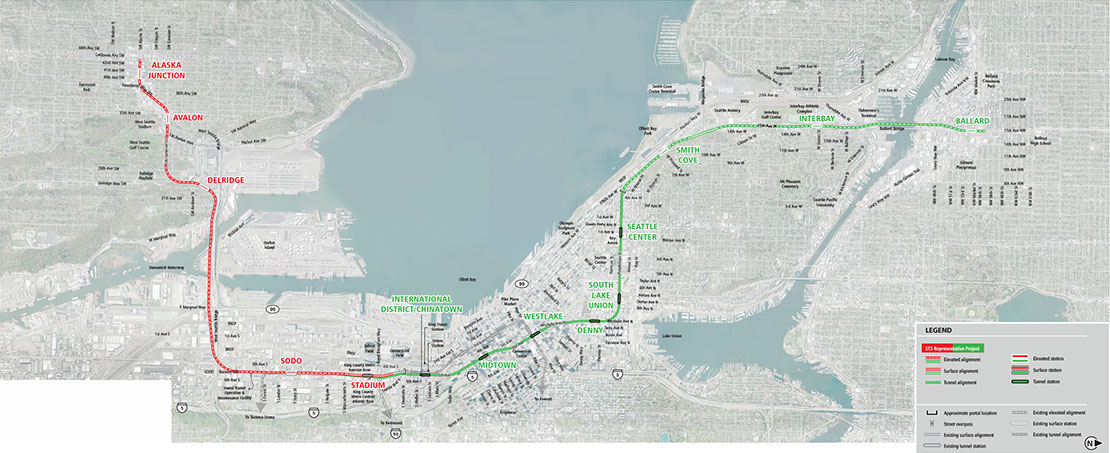 Elected Leadership Group Winnows Down Sound Transit Level 3