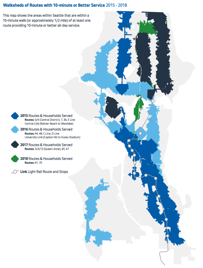 Looking Back on Three Years of Transit Investment in Seattle | The