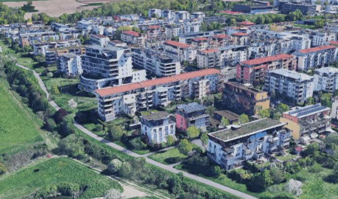Freiburg's Rieselfeld.