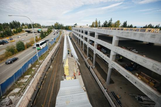 Redmond Technology Center will serve Microsoft's sprawling campus. (Sound Transit)