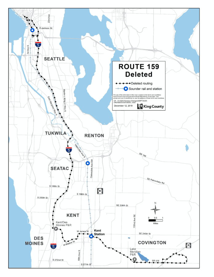 Deleted Route 159. (King County)