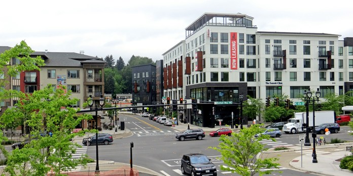 6-story buildings in Downtown Bothell