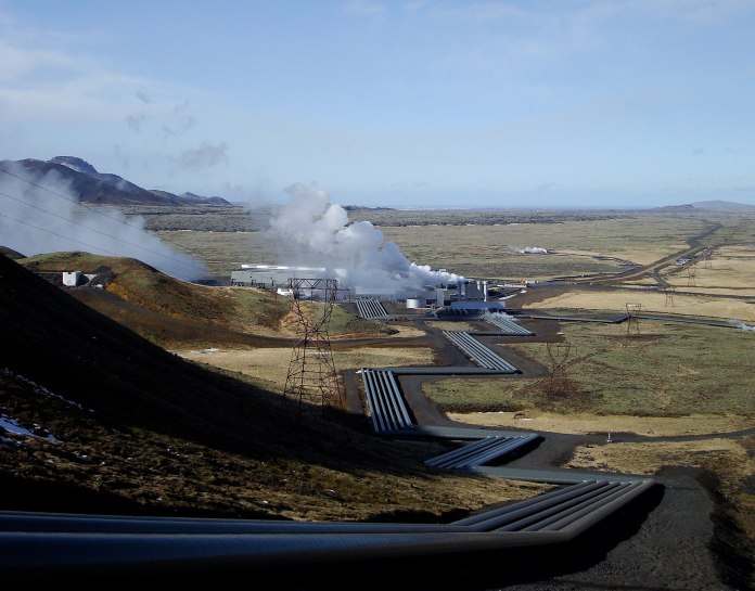 The Hellisheiði Power Station that uses geothermal energy to provide electricity and hot water for Reykjavík. (Credit: ThinkGeoEnergy)
