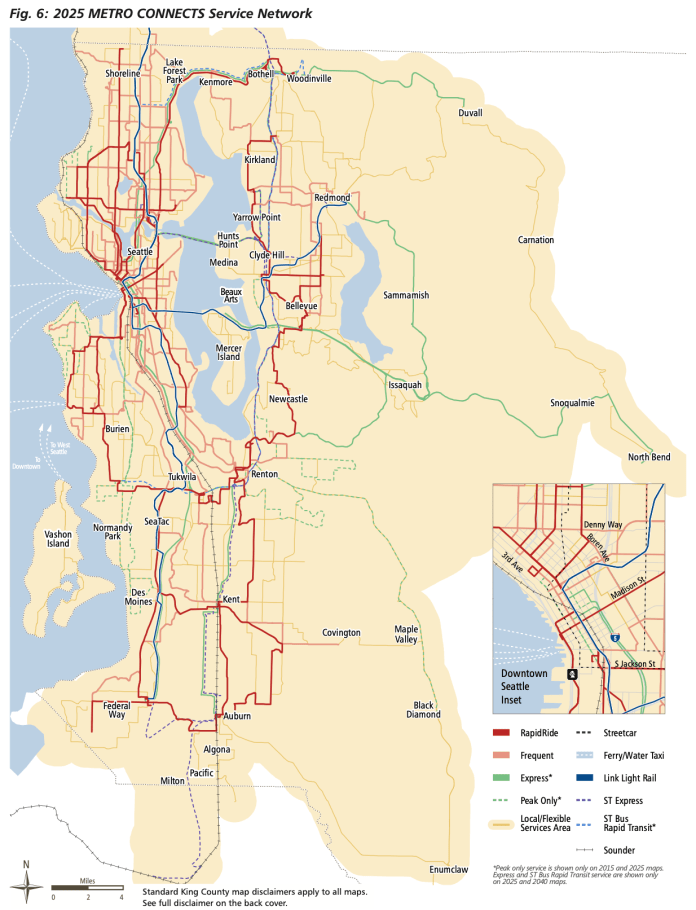 Current 2025 interim network. (King County)
