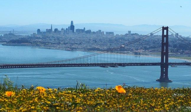San Francisco from the Marin Headlands. (Courtesy of Noah Friedlander)