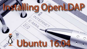 OpenLDAP Install Ubuntu 16.04