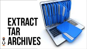 Restoring Tar Archives