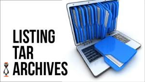 Listing Tar Archives