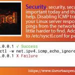 Linux Server Block Network Pings