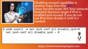 Disable IPv6