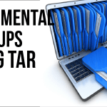 Incremental Backups with Tar
