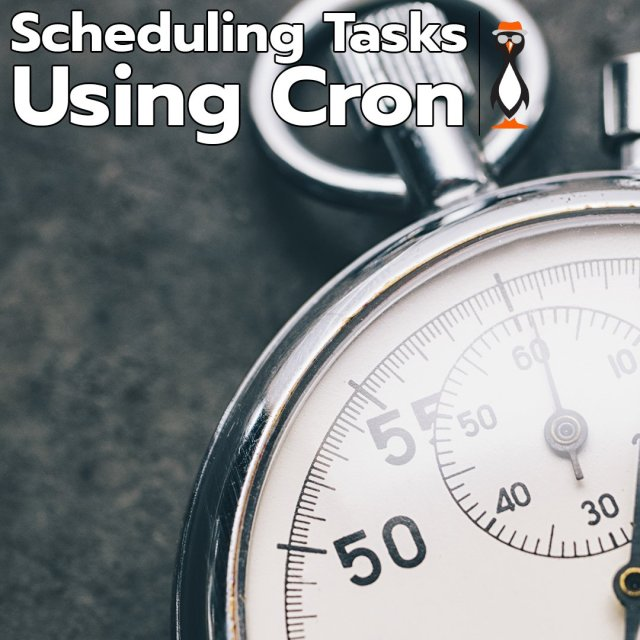 scheduling jobs using cron