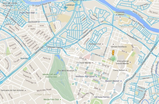 Street View map