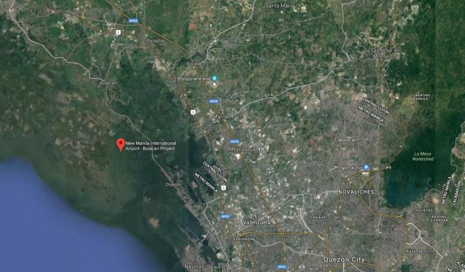 New Manila International Airport site