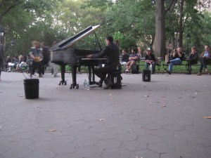 Washington Square Park music