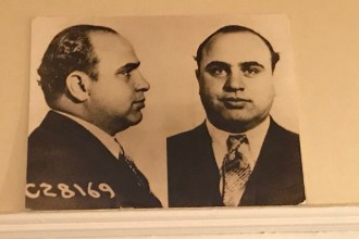 Al Capone at Museum of the American Gangster