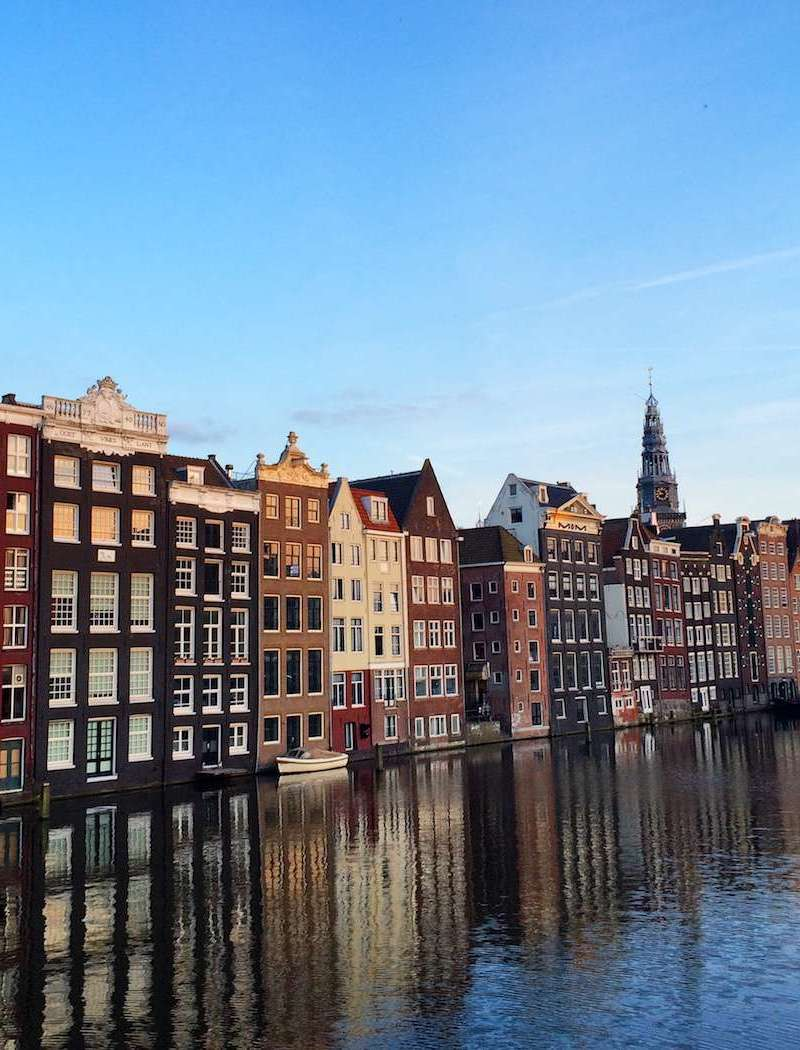 A Guide to Amsterdam || About to travel to Amsterdam? Click to find a list of fun things to do in Amsterdam! The Netherlands is a magical country, and Amsterdam is filled with unique cultural gems (such as the Red Light District and Van Gogh Museum) that you need to see!