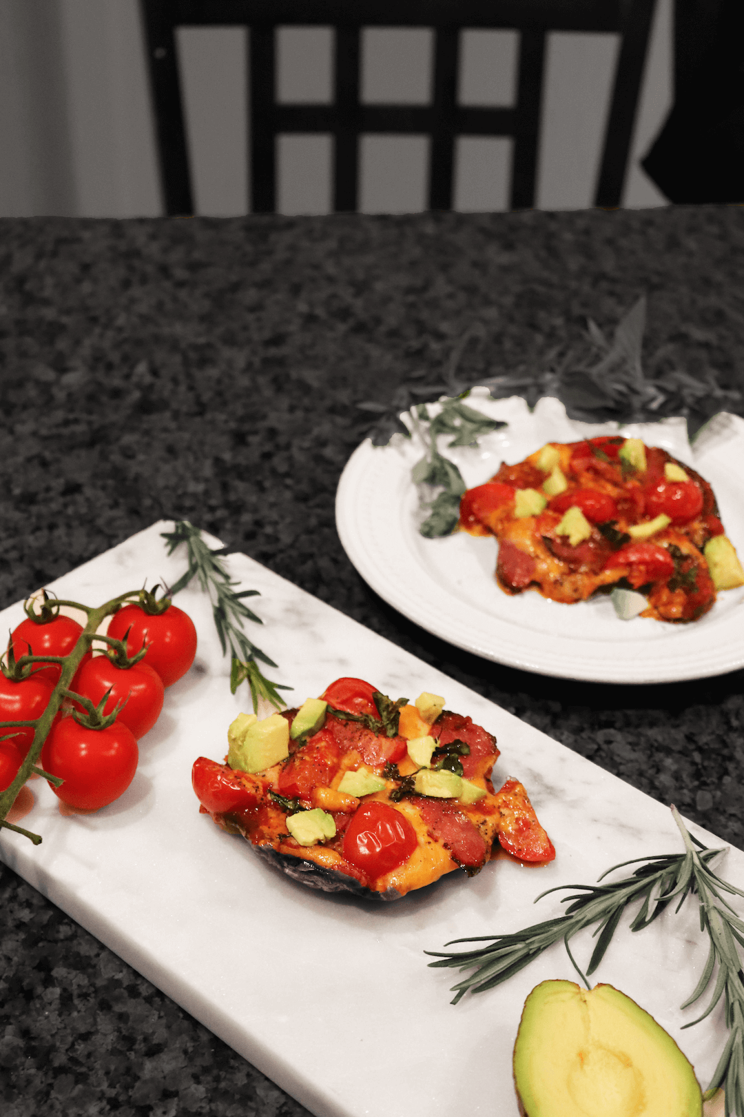 Healthy Portobello Pizza Recipe