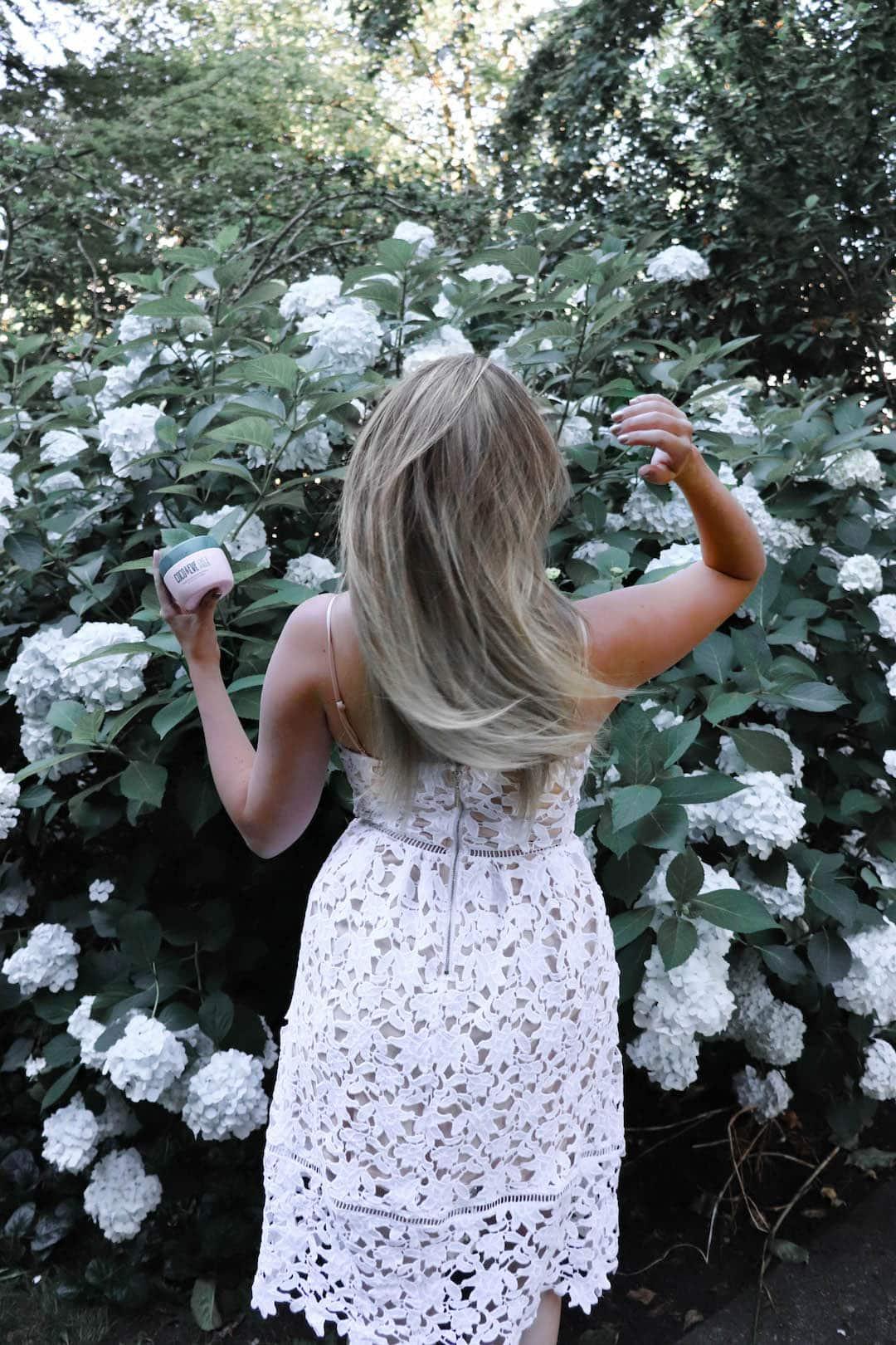 Soft Silky Hair with Coco & Eve Coconut & Fig Hair Mask