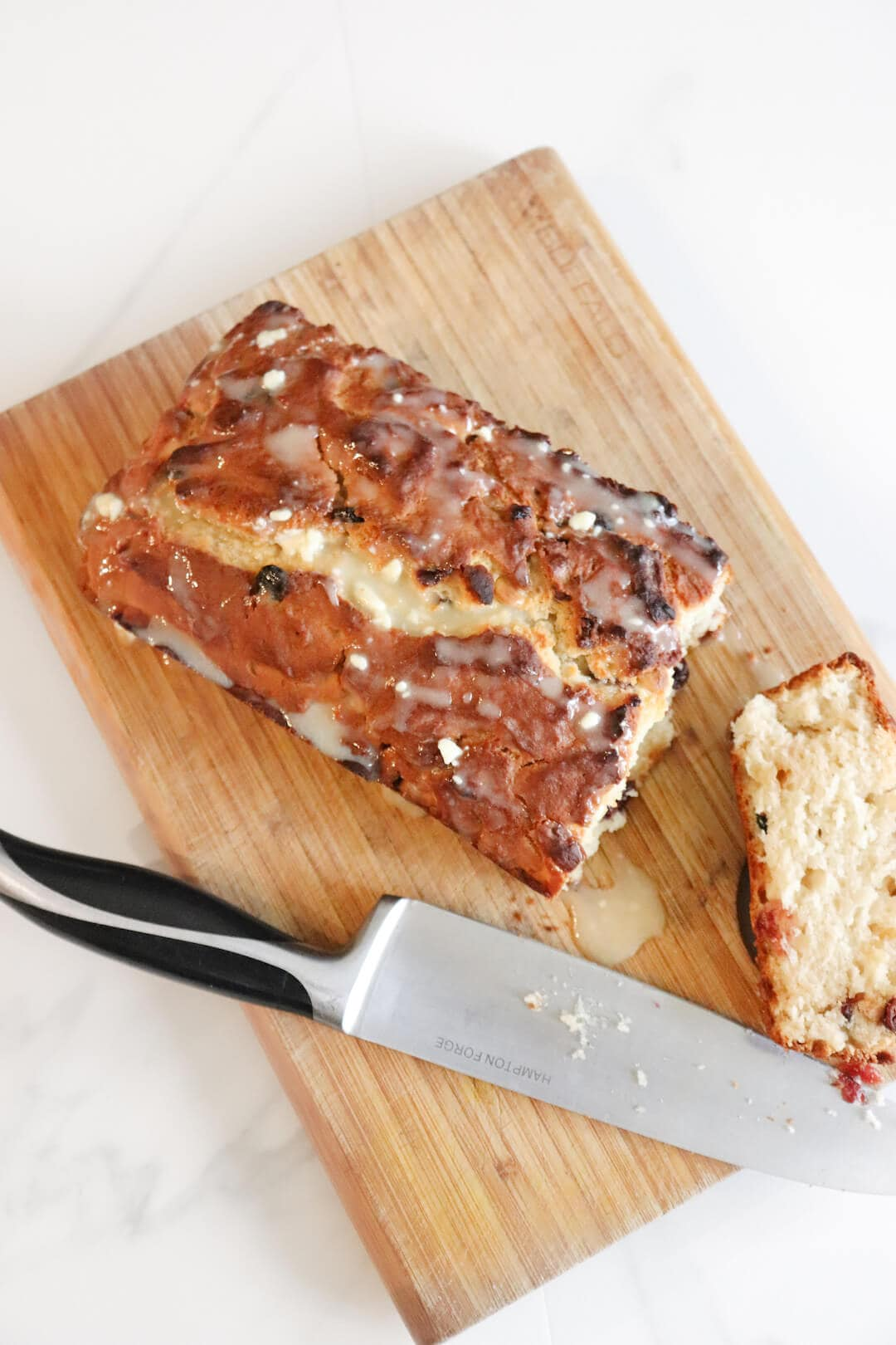 Easy White Chocolate Cranberry Cake Recipe