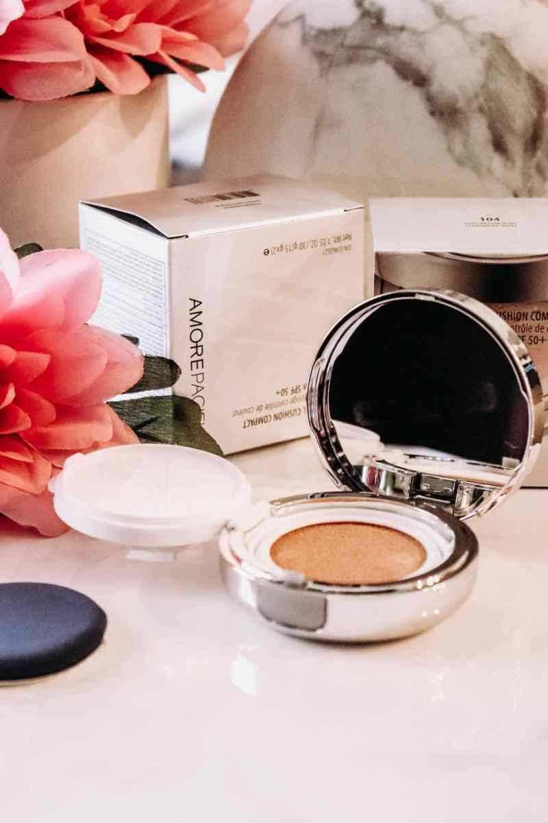 AMOREPACIFIC Cushion Compact SPF 50+ Foundation Review