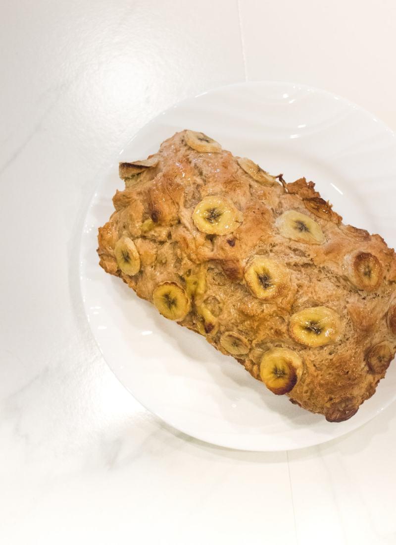 1 Hour Delicious Honey Oat Banana Bread